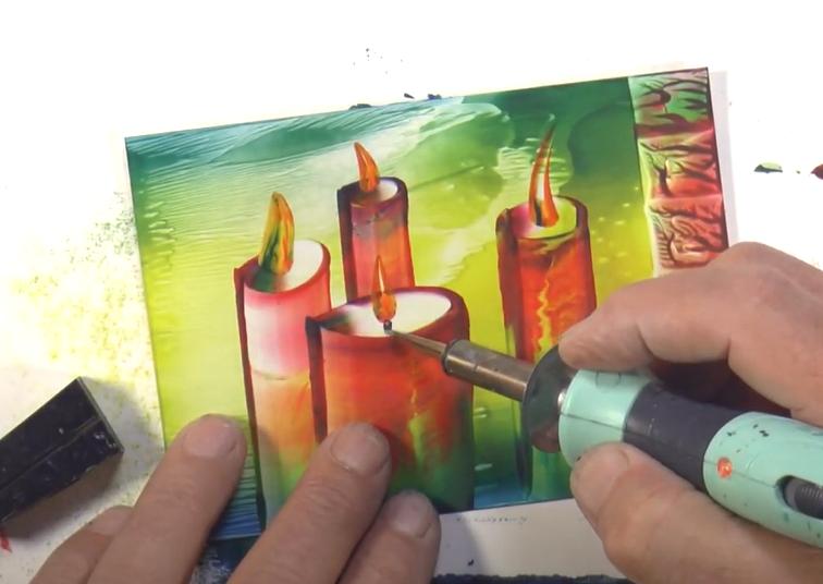 Technika maľovania